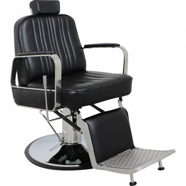 HS5047 Herrenstuhl schwarz Friseurstuhl Herrenfriseurstuhl