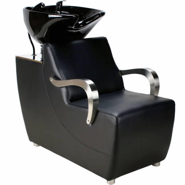 Friseurwaschsessel 255176 schwarz