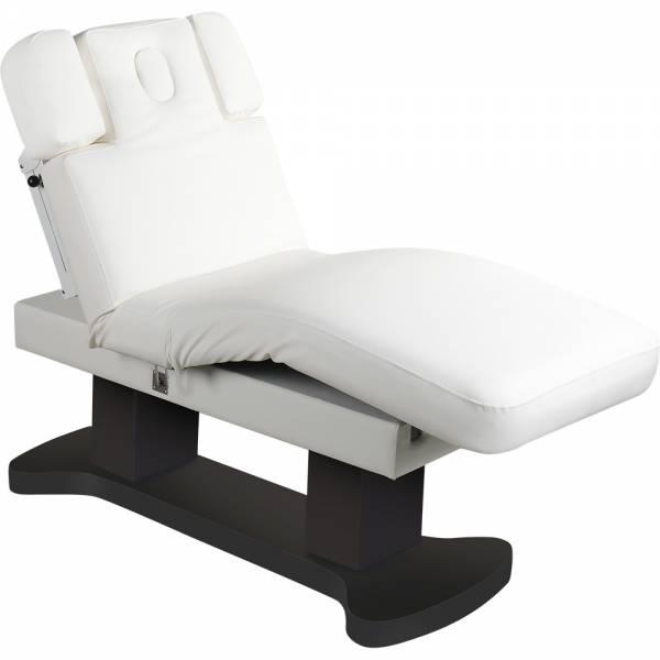 L50866H Behandlungsliege Massageliege mit Heizung schwarz weiß