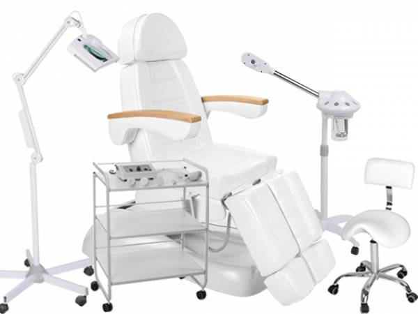 920273 kombinierbare Fußpflegekabine weiß