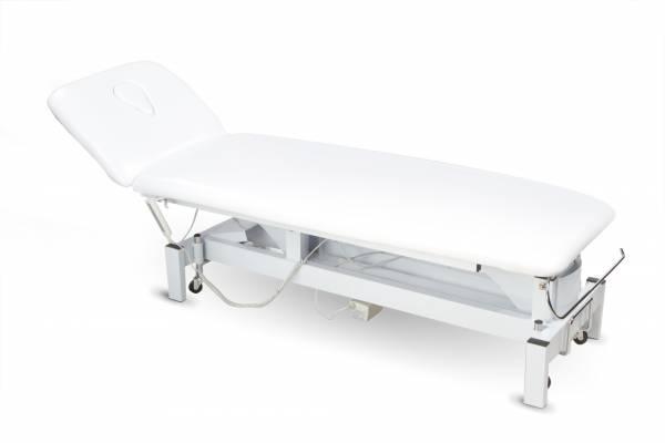 002301 elektrische Behandlungsliege weiß