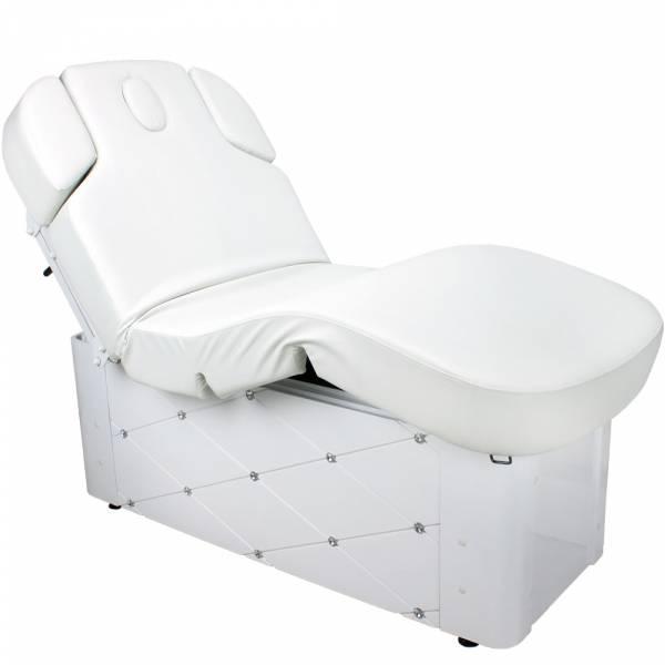 Elektrische Massageliege Wellnessliege 003370-3 Weiß