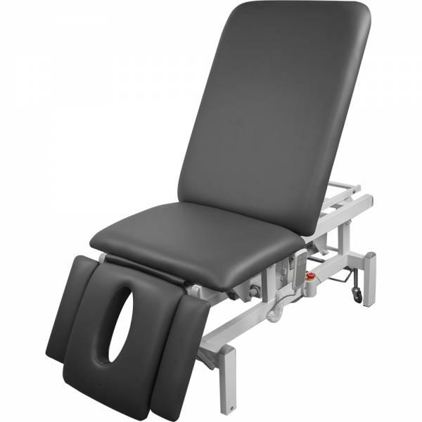 038273 vollelektrische Behandlungsliege grau