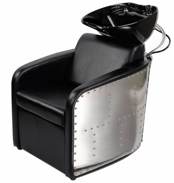Friseurwaschsessel 255186 schwarz