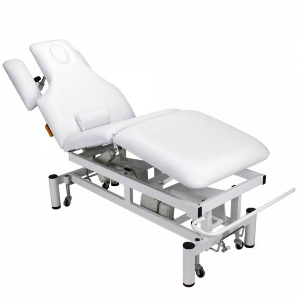 vollelektrische Behandlungsliege 003707 weiß
