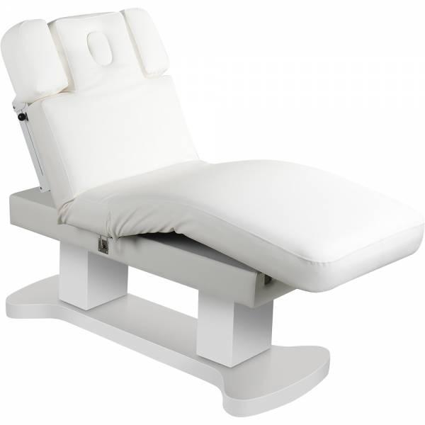 L00866H Behandlungsliege Massageliege mit Heizung weiß