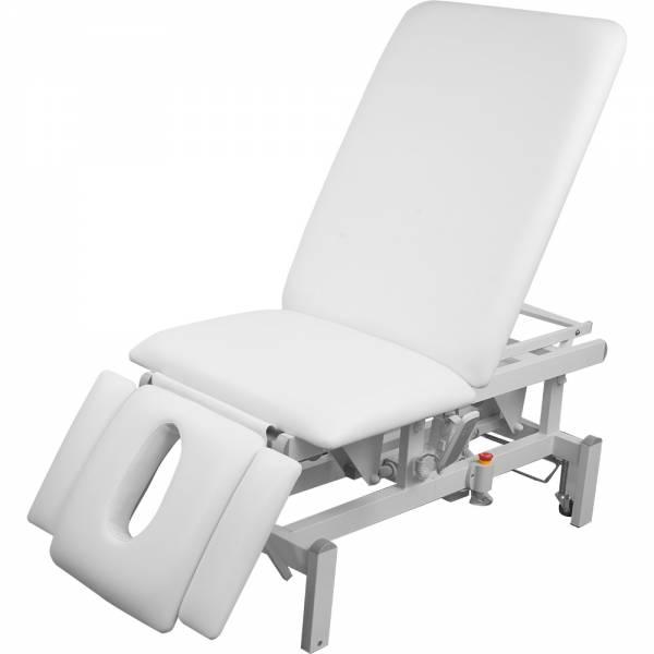 L08173 vollelektrische Behandlungsliege weiß