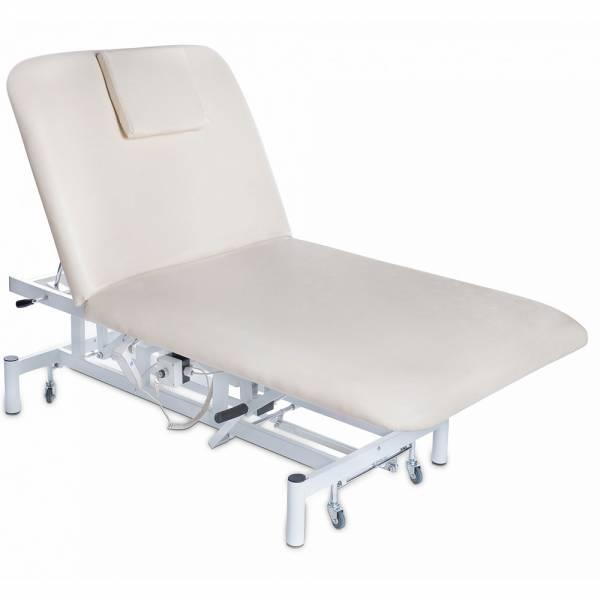 018280 Creme elektische Bobathliege / Behandlungsliege