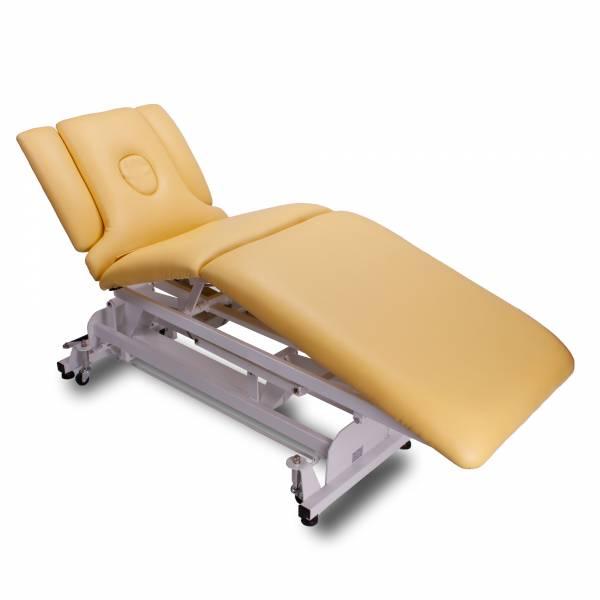 vollelektrische Behandlungsliege 093707 gelb