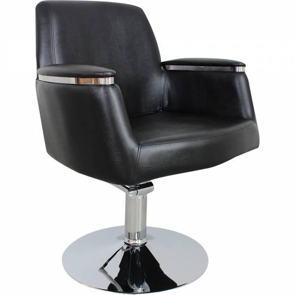 s50562 Friseurstuhl schwarz