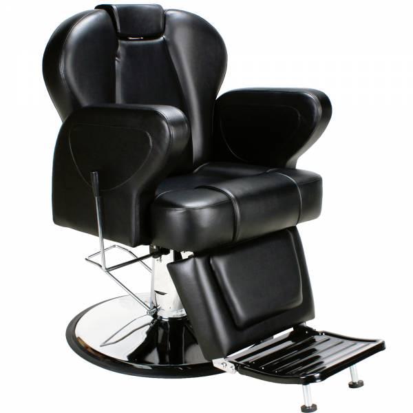 205019 Herrenstuhl Friseurstuhl schwarz
