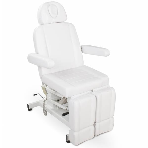 123706 elektischer Fußpflegestuhl weiß