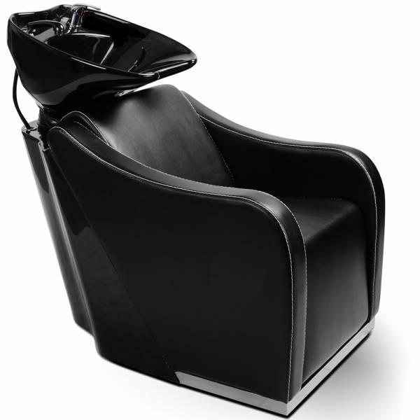 255149 Friseurwaschsessel Rückwärtswaschsessel schwarz