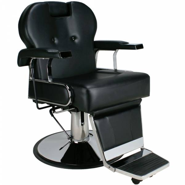 Herrenstuhl Friseurstuhl 205812 schwarz