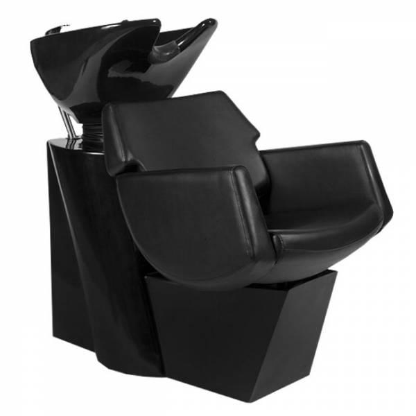 255106 Friseurwaschsessel schwarz